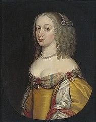 Portrait of a woman, possibly Amalia Margaretha van Brederode (1626/27-1663/65)