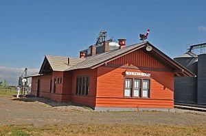 Geraldine, Montana - Geraldine Depot