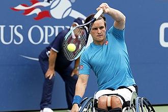 Gordon Reid (tennis) - Gordon Reid at the 2017 US Open