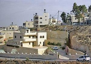 Jabel Mukaber - Dwellings in Jabel Mukaber.