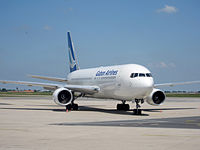 Gabon Airlines. Boeing 767-200. CDG.2010.JPG
