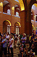 Galleries in the nave - Basilica of Aparecida - Aparecida 2014 (4).jpg