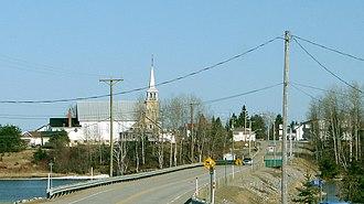 Gallichan, Quebec - Image: Gallichan QC