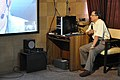 Ganga Singh Rautela Skyping With Paul Doherty - Professional Enrichment Programme On Astronomy Awareness - NCSM - Kolkata 2011-09-21 5530.JPG