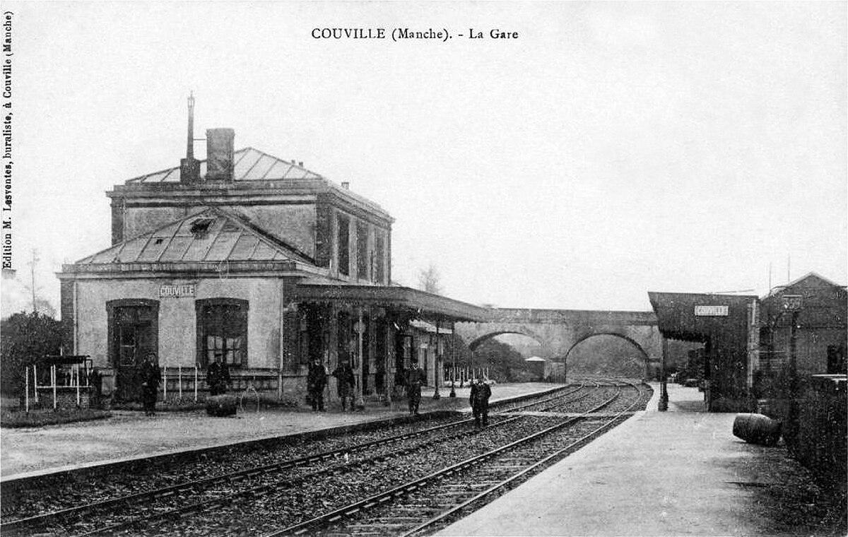 Gare de couville wikip dia for Piscine chateau d eau reims