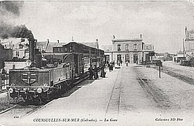 image illustrative de l'article Gare de Courseulles