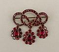Garnet brooch with pendants Serpent Brooch With Pendants, ca. 1780 (CH 18647691).jpg