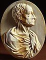 Gaspar van der Hagen (Attributed to) - Ivory portrait relief of Alexander Pope.jpg