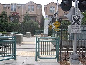 Whisman station - Image: Gate at Whisman 1068