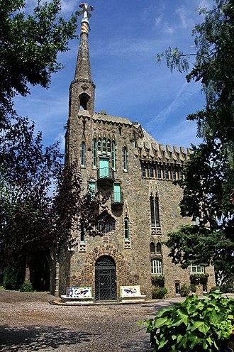 Bellesguard - Image: Gaudi torre Bellesguard 1258sh