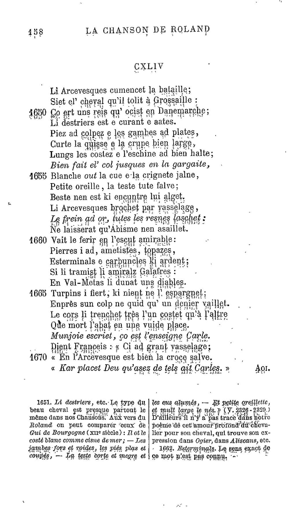 Chanson De Roland Onzieme Edition 1881.djvu