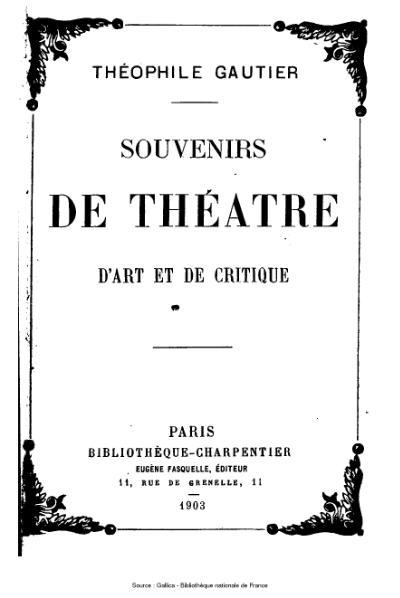 File:Gautier - Souvenirs de théâtre d'art et de critique.djvu