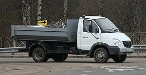 GAZ Valdai - Image: Gaz 3310 dump truck
