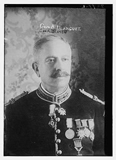 Aureliano Blanquet Mexican soldier