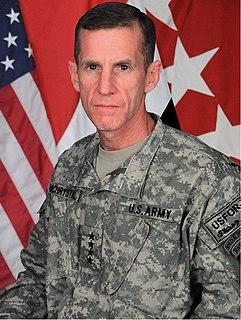 Stanley A. McChrystal US Army general