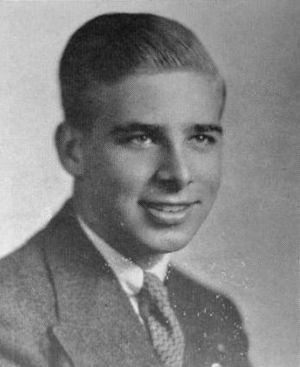 Gene Roddenberry - Gene Roddenberry, during his senior year at high school