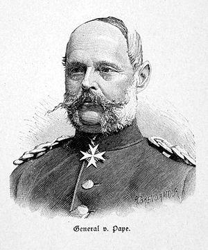 Alexander August Wilhelm von Pape - Alexander August Wilhelm von Pape