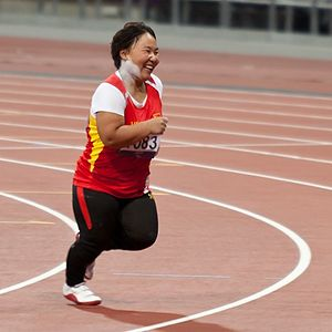 T40 (classification) - Genjimisu Meng, a T40 Chinese athlete, at the 2012 Summer Paralympics