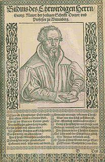 Georg Major German theologian
