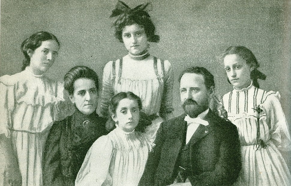 George C. Pardee and family