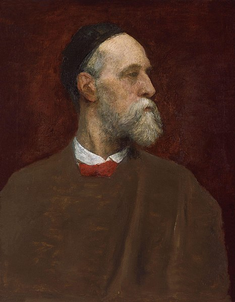 Fichier:George Frederic Watts by George Frederic Watts.jpg