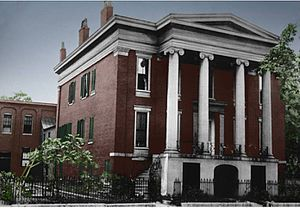 George Keats - Photo 1890, home of George Keats in Louisville