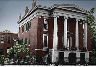 George Keats - Photo 1890, home of George Keats in Louisville
