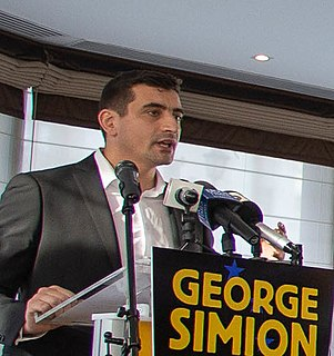 George Simion Romanian activist and politician