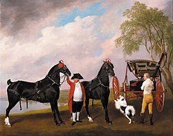 George Stubbs: The Prince of Wales's Phaeton