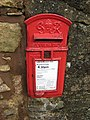 George VI postbox, Clearwell - geograph.org.uk - 1045700.jpg