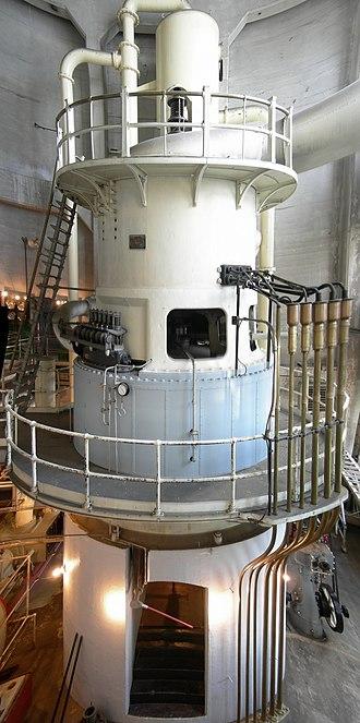 Georgetown Steam Plant - Vertical steam turbine (2008).