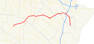 Georgia State Route 144 - Image: Georgia state route 144 map