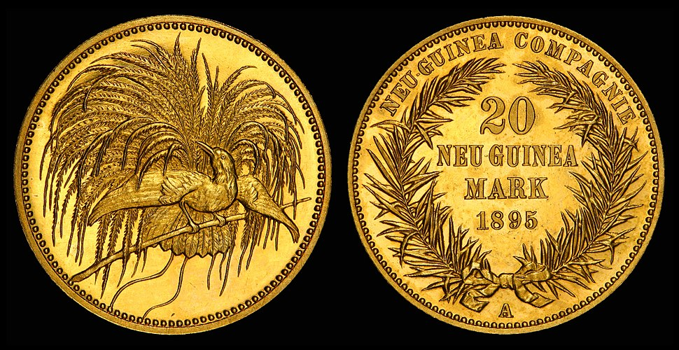 German New Guinea 1895-A 20 Mark