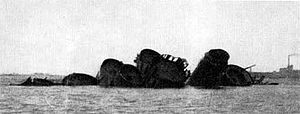 HNLMS Gelderland (1898) - The wreck of Niobe in Kotka