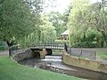 Gheluvelt Park pond outflow - geograph.org.uk - 504428.jpg