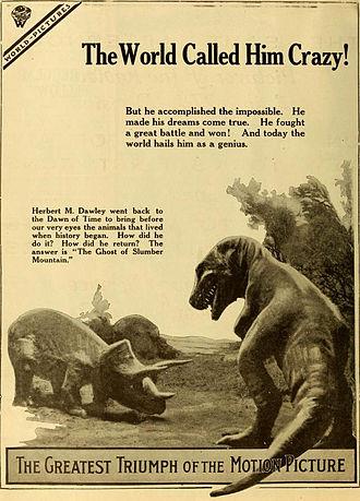 The Ghost of Slumber Mountain - Advertisement (1919)