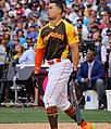 Giancarlo Stanton competes in semis of '16 T-Mobile -HRDerby. (28574676855).jpg