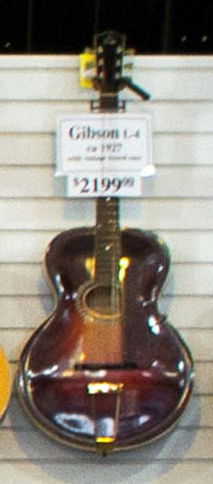 Gibson L-4 - Gibson L-4 (ca.1917)
