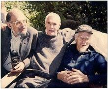 Ο Άλλεν Γκίνσμπεργκ, ο Timothy Leary και ο John C. Lilly (1991)