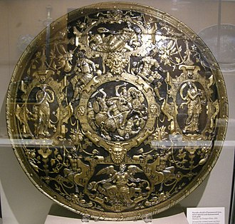 Ghisi Shield - The Ghisi Shield, Waddesdon Bequest, British Museum, London