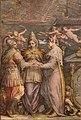 Giorgio vasari e aiuti, Flotta della Lega davanti a Messina, 1572-73, 04.jpg