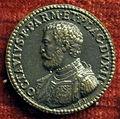 Giovan federico Bonzagni, medaglia di Pierluigi Farnese, duca di parma e piacenza.JPG