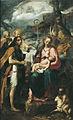 Giovanni Batista Tinti - La Vierge à l'enfant et le mystère de la Passion - Musée des Augustins - D 1959 3.jpg