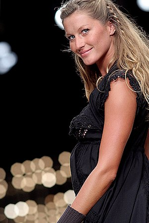 Gisele Bündchen was born in Horizontinal.
