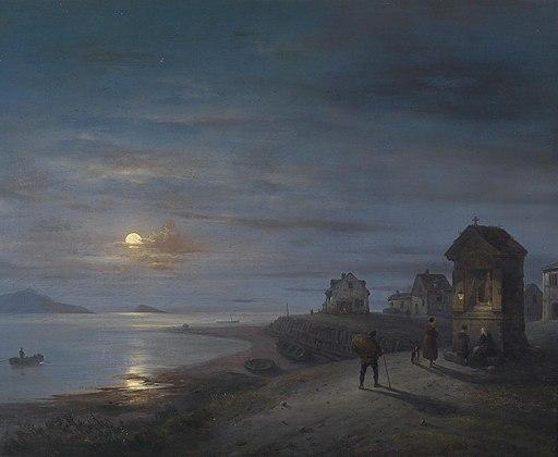 Giuseppe Canella Küstenlandschaft 1840