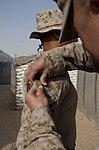 Glen Burnie, Md., Marine reaffirms oath in Afghanistan 130813-M-ZB219-525.jpg
