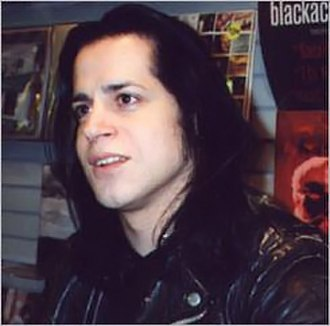 Glenn Danzig - Glenn Danzig at a record signing in 1996.