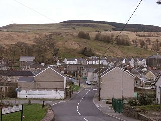 Glyncorrwg Human settlement in Wales