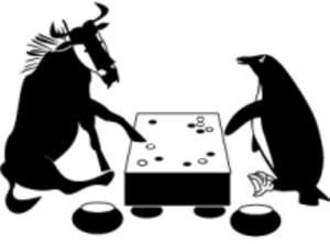 GNU Go - Logo by Ebba Berggren