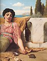 Godward-A Quiet Pet-detail-1906.jpg